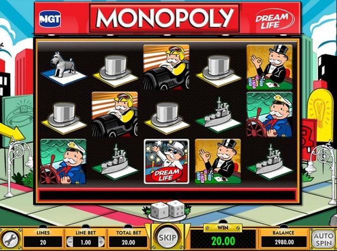 Monopoly™ Juego de tragamonedas para jugar gratis en Casinos en línea de