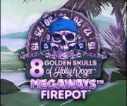 8 Golden Skulls of Holly Roger Megaways